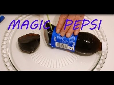 Pepsi Flasche aus Pudding, Gelee DIY !!! - How to Make Pepsi Jelly DIY recipe!!