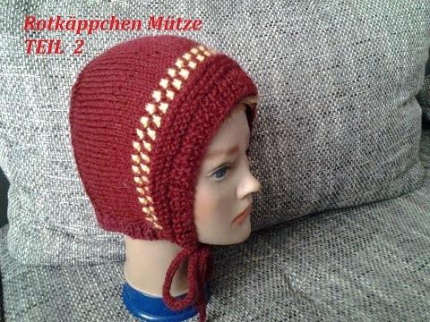 DIY Kindermütze stricken*Teil 2**Baby Mütze*einfach Stricken*Rotkäppchen Mütze Tutorial Handarbeit