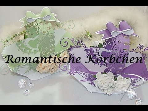 DIY: Romantische Körbchen mit dem Joy!Crafts Envelope Board