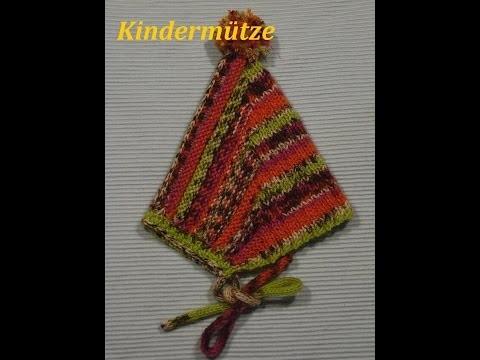 DIY Kindermütze stricken*Baby Mütze*einfach Stricken*Rotkäppchen Mütze Tutorial Handarbeit