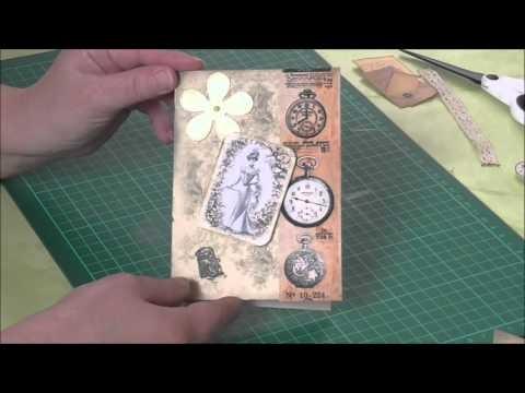 [ DIY ] Vintagekarte basteln