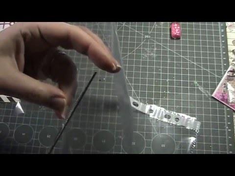 Filofax DIY Shakerpaperclips     Tutorial