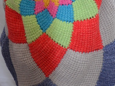 Kreisjacke FEUERRAD aus Woolly Hugs BANDY.SHEEP 6. Teil