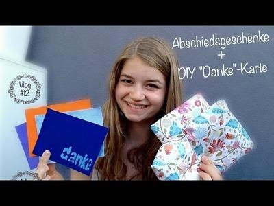 "Abschiedsgeschenke + DIY ""Danke""-Karte | Au Pair Vlog #12"
