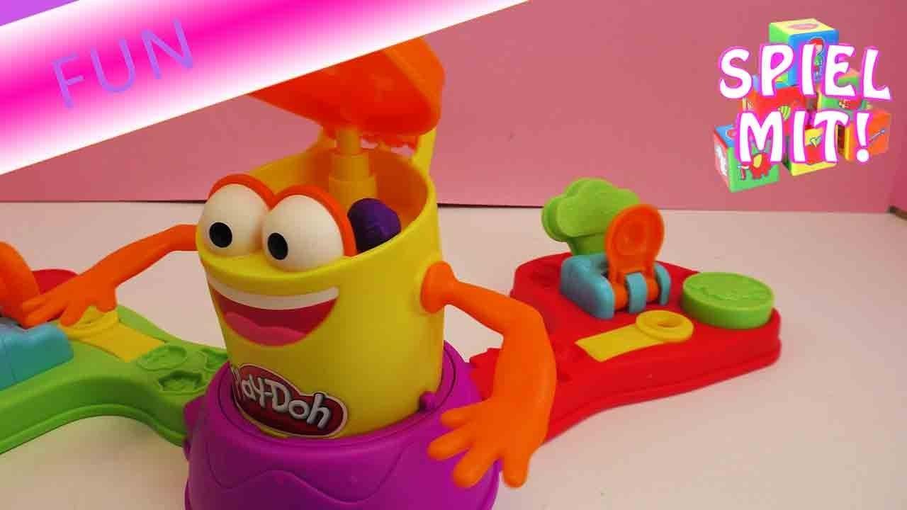 Play Doh Alle auf Kalle - Eva und Kathi von DIY Inspiration spielen Knetspiel