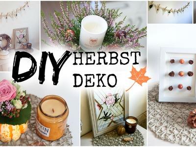DIY HERBST DEKO IDEEN 2016 ❤ #helloautumn