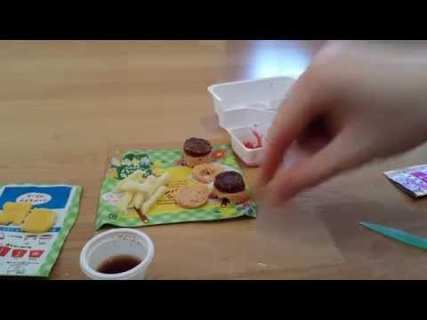 DIY Kracie Popin Cookin Hamburger.einmal das ekel Menü mit Cola bitte!!