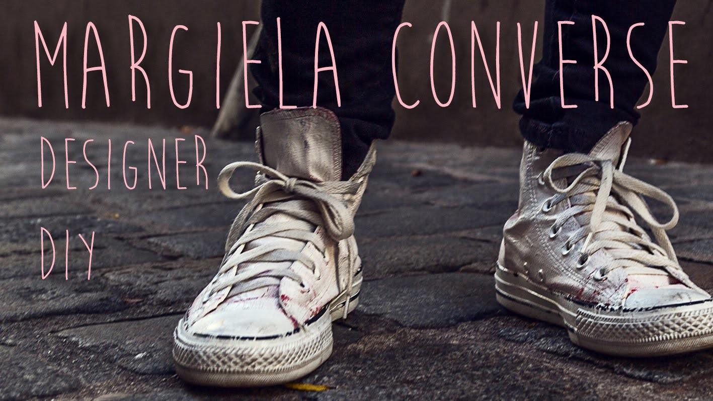 Maison Martin Margiela inspiriert Converse Sneakers DIY Designer