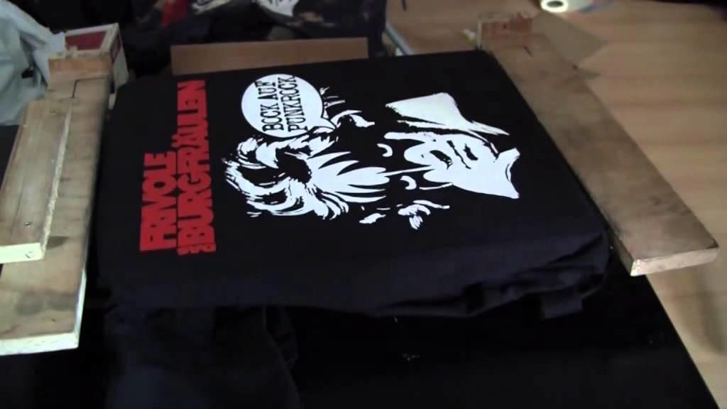 Bock auf Shirtdruck (DIY Screen Printing)