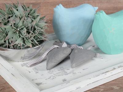 DIY: Shabby Chic mit Kreidefarbe und Wachs einfach selbst gestalten