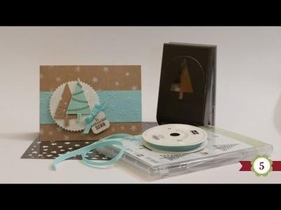 DIY - 12 Karten bis Weihnachten - #05 - Stampin' Up!