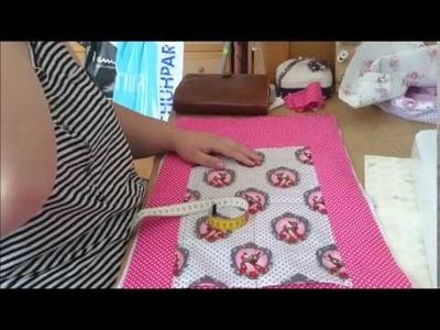 DIY Filofax-Tasche A5 mit Innentasche | Filofaxing
