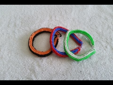 LoomBand Tutorial #1 [[Double Cross Fishtail]]