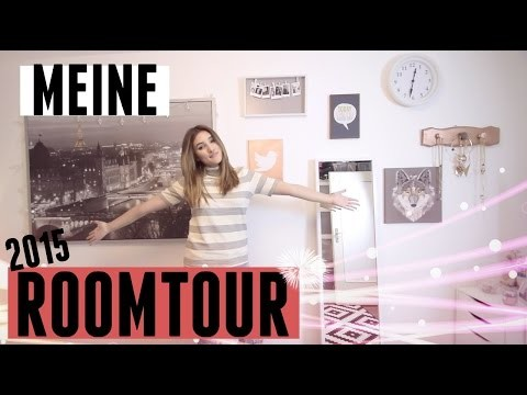 MEINE ROOMTOUR 2015 + DIY ROOM DECOR!