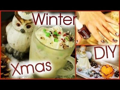 WINTER Nageldesign, DIY und Weihnachtsgetränk I Xmas Special I