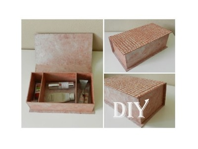 DIY: Aufbewahrungsbox mit Eierschalen. storage box with egg shells