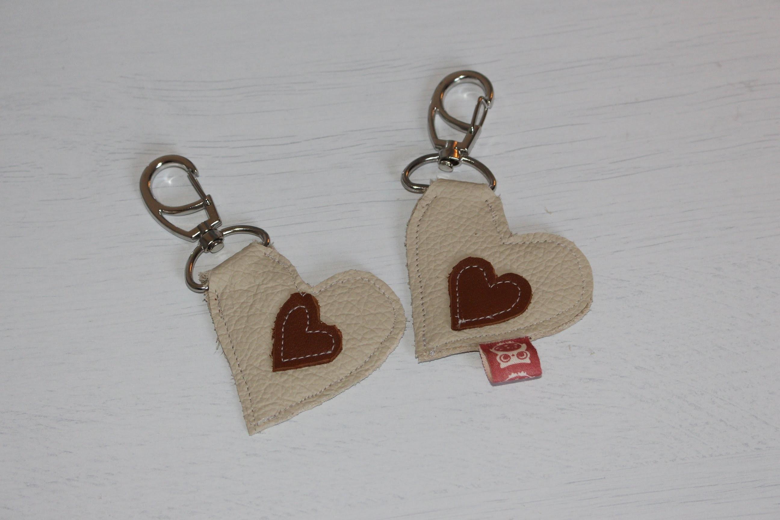 DIY Schlüsselanhänger selber nähen *Valentinstagsgeschenk*