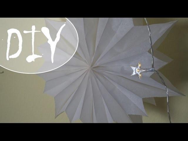 Einfache Papiersterne ~ (DIY. Tutorial)