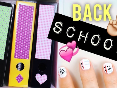 BACK TO SCHOOL DIY IDEEN + NAGELDESIGN mit Alycia Marie