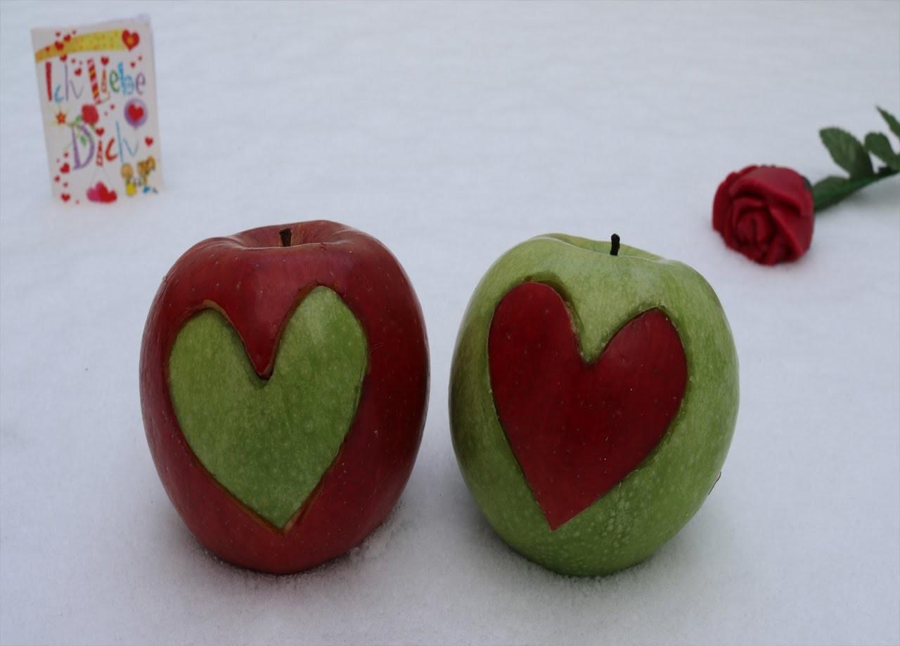 DIY Liebesapfel zum Verschenken!  by Binga! Lektion 21