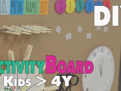 DIY Activity Board | Ideen für Kinder ab 4-5 Jahren | mamiblock - Der Mami Blog