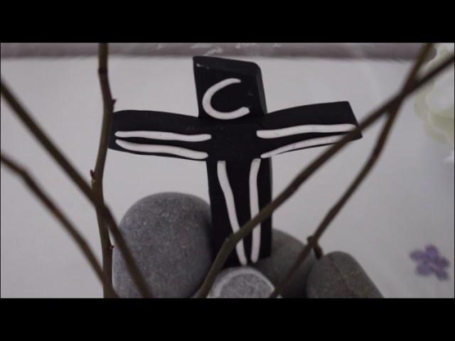 DIY: * Oster Special * Kreuz Christliche Osterdeko l Basteln zu Ostern # 7
