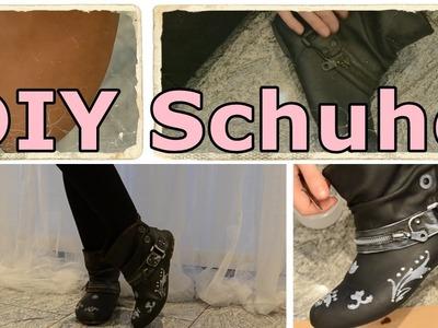 DIY ♥ Schuhe aufpeppen ♥ Elen Pruefer
