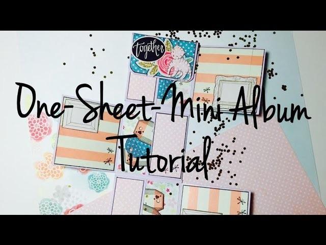 DIY Scrapbook One-Sheet-Mini #2 [tutorial | deutsch]