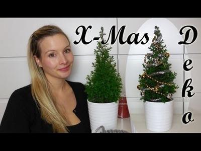 DIY - Dekoration für Weihnachten I Weihnachtsdekoration I Mini Weihnachtsbaum I AnnaBirdie