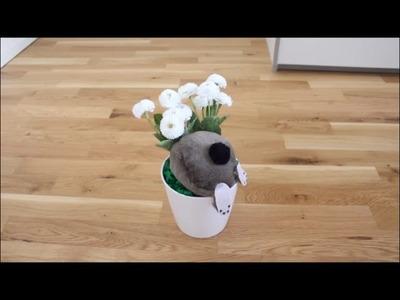 DIY: * Oster Special * Hase im Topf Osterdeko l Basteln zu Ostern # 8