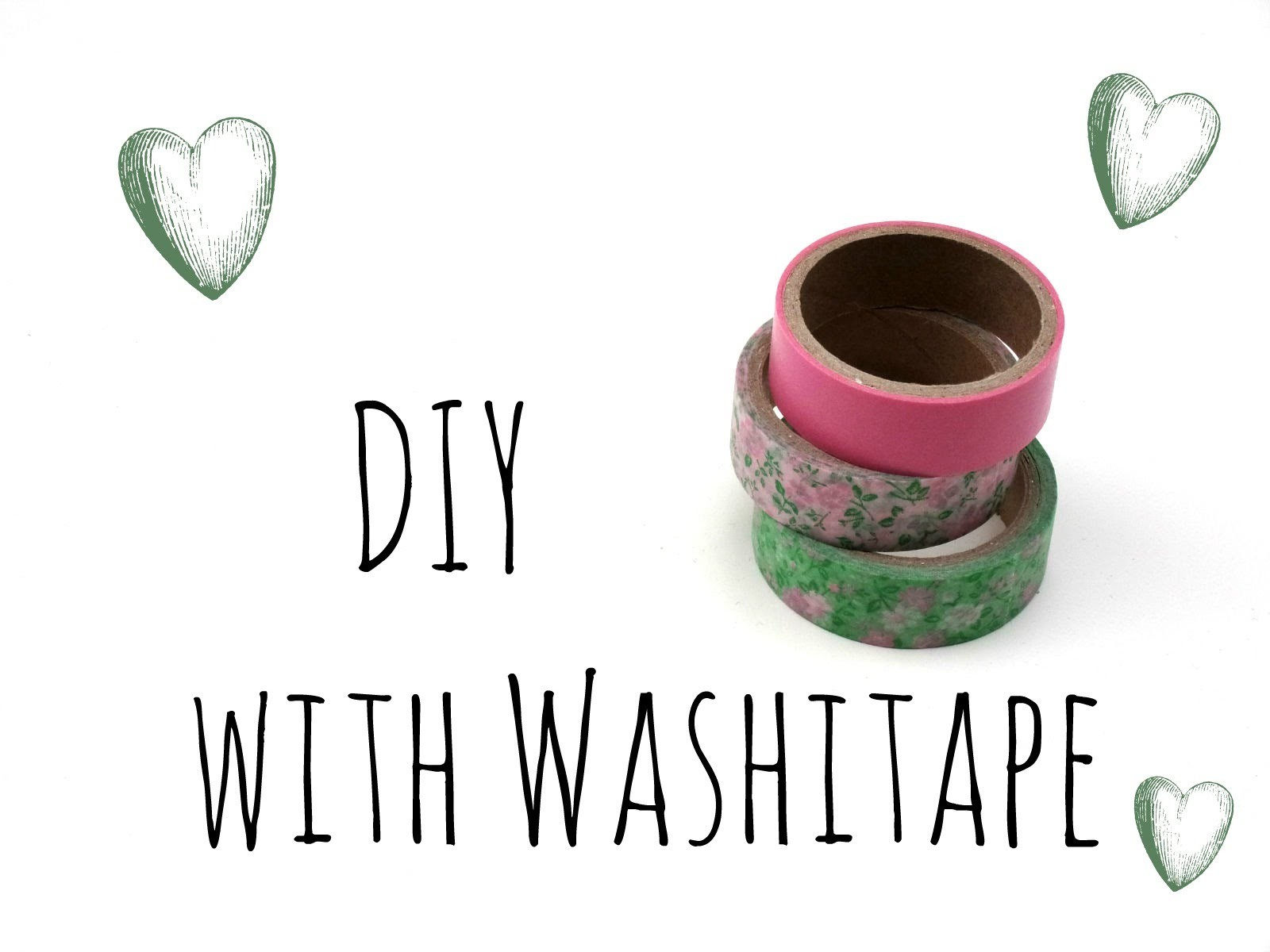 DIY with Washitape - Inspiration