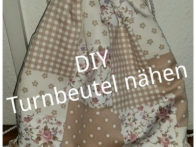 DIY - Turnbeutel nähen (kostenloses Schnittmuster)