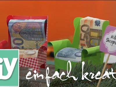 Verpackungen für Geldgeschenke  | DIY einfach kreativ