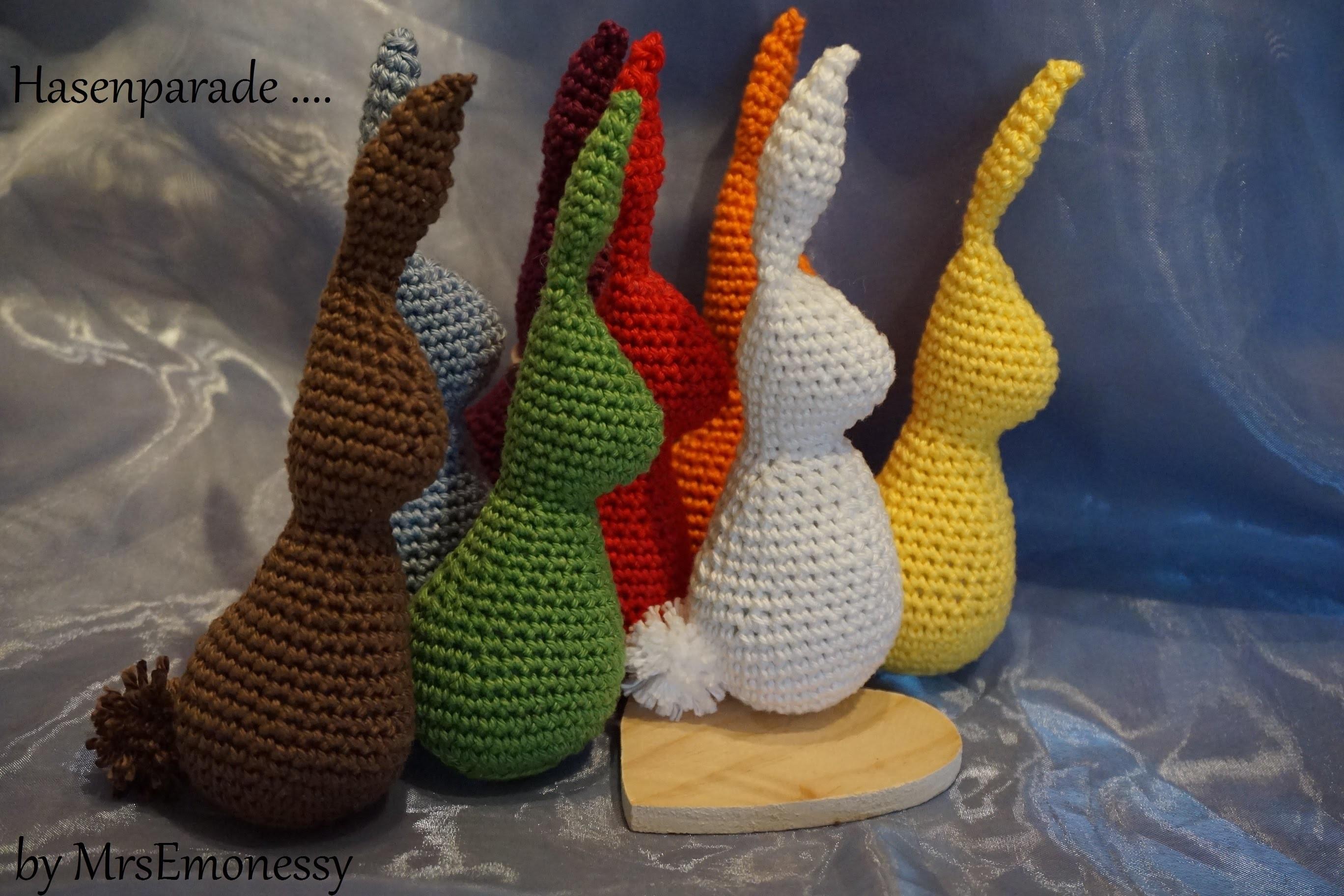 DIY Hase Häkeln für Ostern free pattern english version
