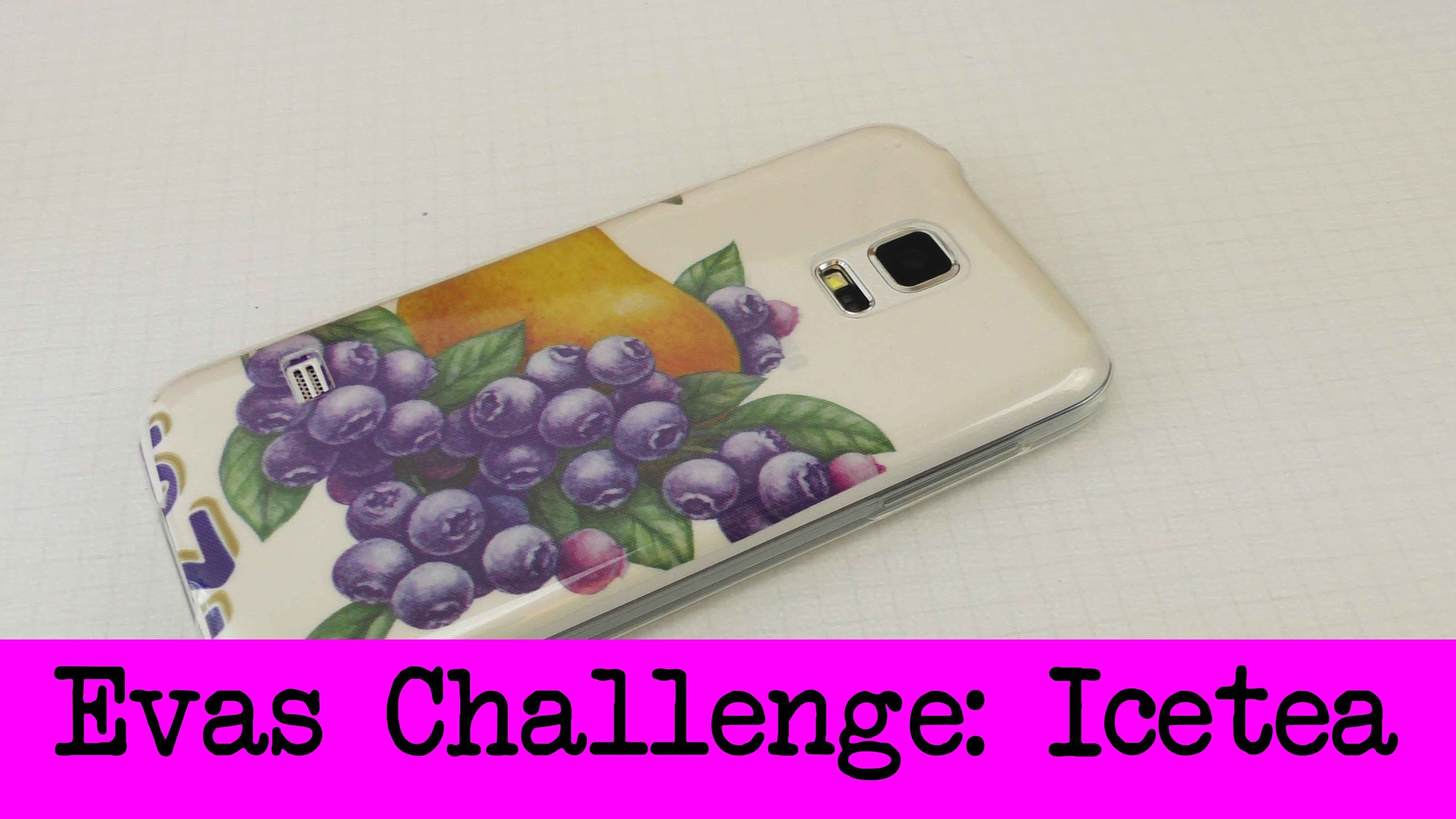 DIY Inspiration Challenge #23 Arizona Icetea Flaschen | Evas Challenge | Tutorial - Do it yourself