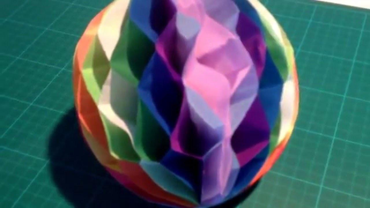 DIY: Wabenbälle für Party-Deko einfach selber machen