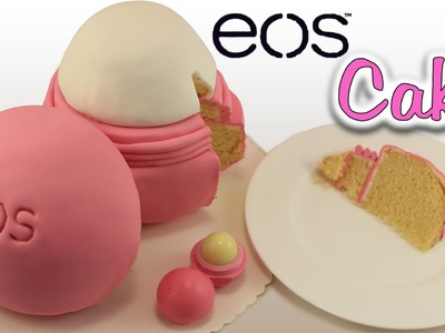 DIY Giant EOS Lip Balm Cake | EOS Kuchen backen | How to make an EOS Cake