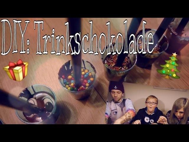DIY: Trinkschokolade; leicht selber machen - Geschenkidee !