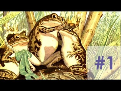Nadelspiel Adventskalender 2014 * 3. Dezember * Der Frosch mit dem Edelstein im Kopf * Teil 1