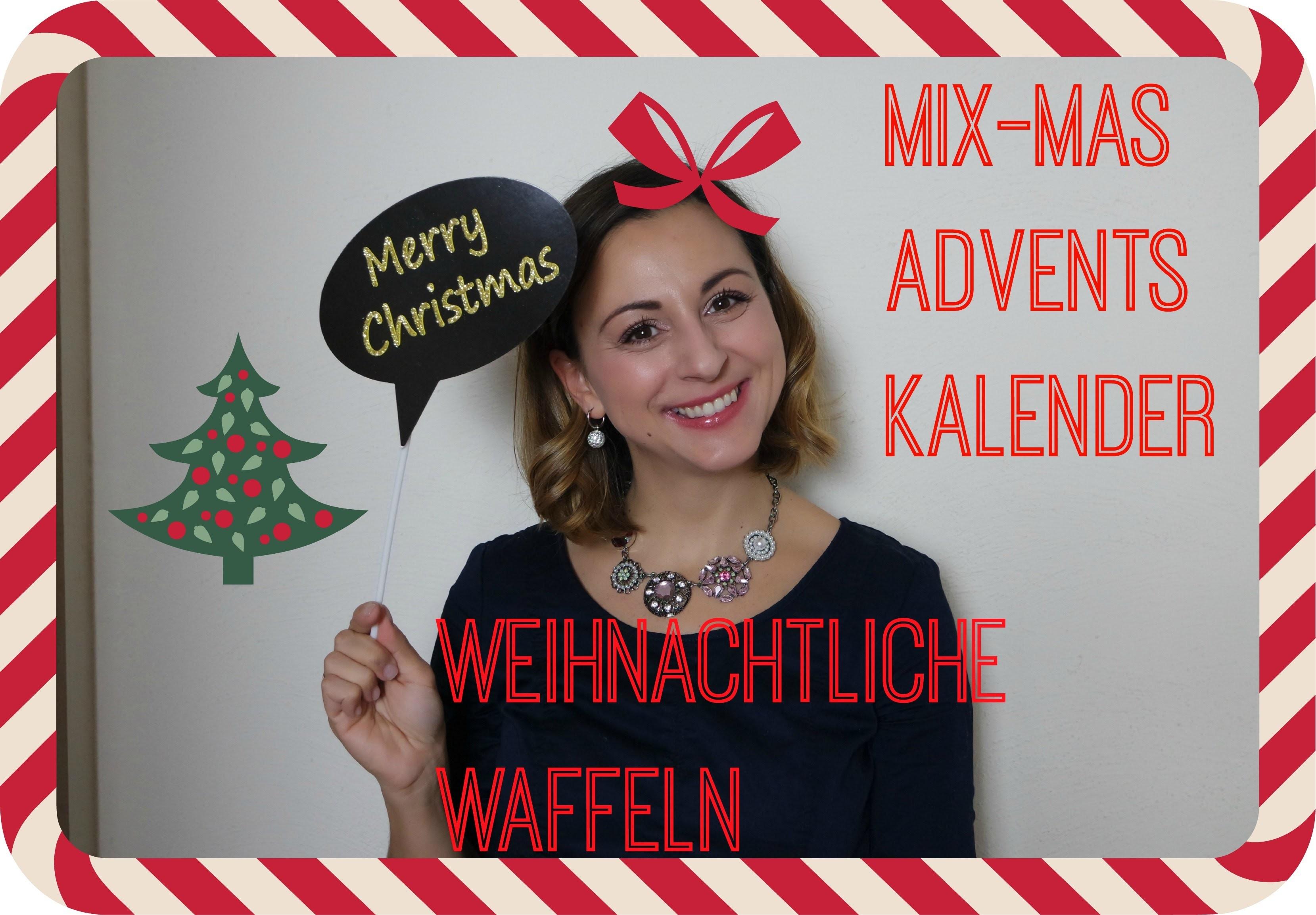 DIY Weihnachtliche Waffeln mit Zimt I Mix-Mas Adventskalender #7