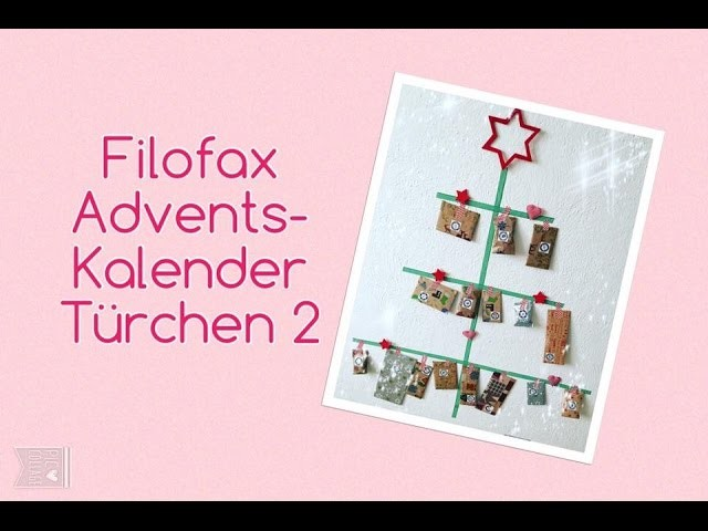 Filofax Adventskalender Türchen 2 | Christmas Countdown | deutsch | filolove_