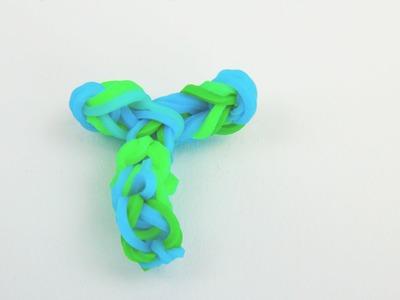 How To: Rainbow Loom Letter T Charm Buchstabe T Anhänger auf dem Rainbow Loom Alphabet Letter Charm