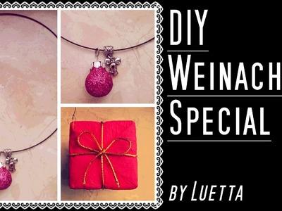 LAST MINUTE WEIHNACHTSGESCHENK - DIY Halskette - Weihnachts Special by Luetta