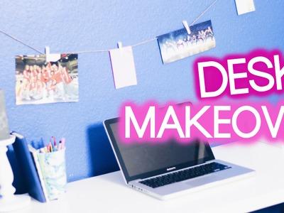 DESK MAKEOVER - DIY Organisation & Dekoration I Maren Vivien