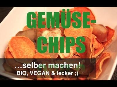 DIY: GEMÜSE-CHIPS selber machen! BIO, VEGAN & LECKER ;) | Max GREEN