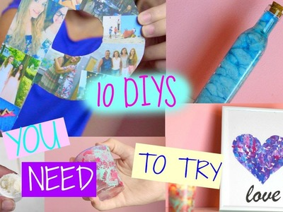 10 DIY PROJECT IDEAS YOU NEED TO TRY ♥♥♥