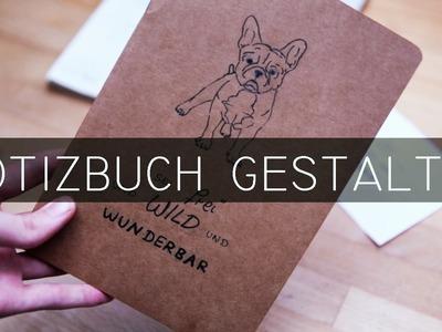 DIY einfache Zeichnung + einfaches Hand Lettering - Weihnachtsgeschenkidee - kekulo