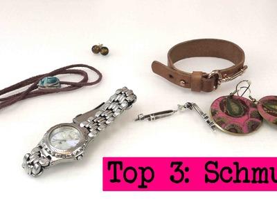 DIY Inspiration Top 3: Schmuck - Kathi's und Eva's Lieblingsschmuck. DIY Inspiration