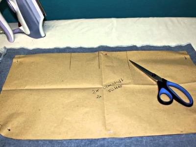 Let's sew - Tasche mit Kellerfalte