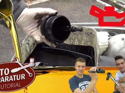 Ölwechsel selber machen Anleitung [Tutorial] HD car oil change selfmade